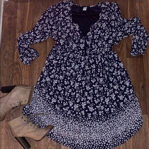 🍁old navy flower dress